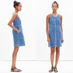 MADEWELL UTILITY SHIFT DRESS